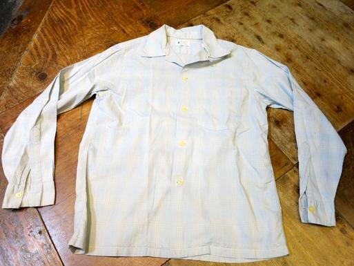 2月22日入荷! 50'S VAN HEUSEN オープンカラーシャツ!_c0144020_1613587.jpg