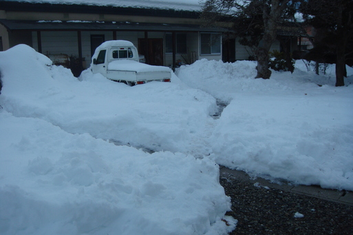 連日の雪かき_e0226943_23163087.jpg