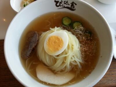 ぴょんぴょん舎 GINZA UNAでご機嫌な盛岡冷麺と焼肉ランチ_a0187658_212351.jpg