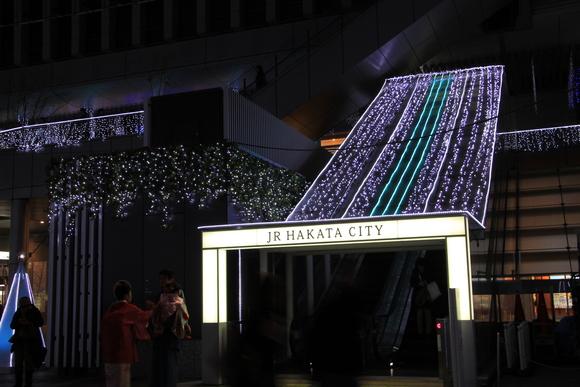 JR博多駅 イルミネーション_d0202264_613733.jpg