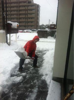 記録的豪雪・雪かき_b0194266_11474339.jpg