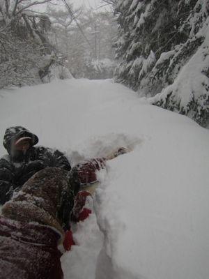 観測史上最高の積雪量となった雪の日 (part2)_d0133485_16175381.jpg