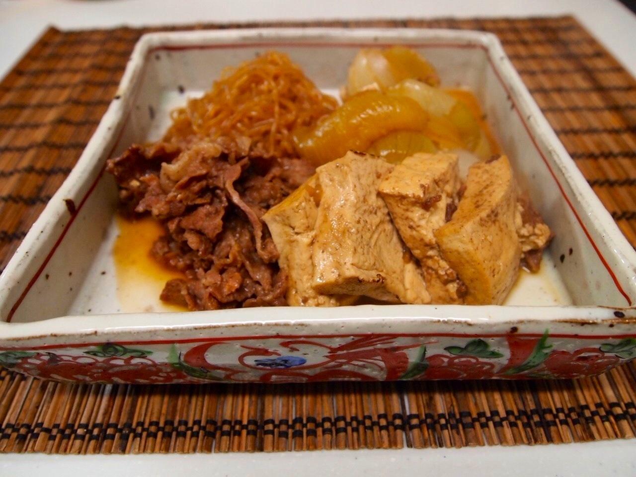 肉豆腐_a0258686_6435375.jpg