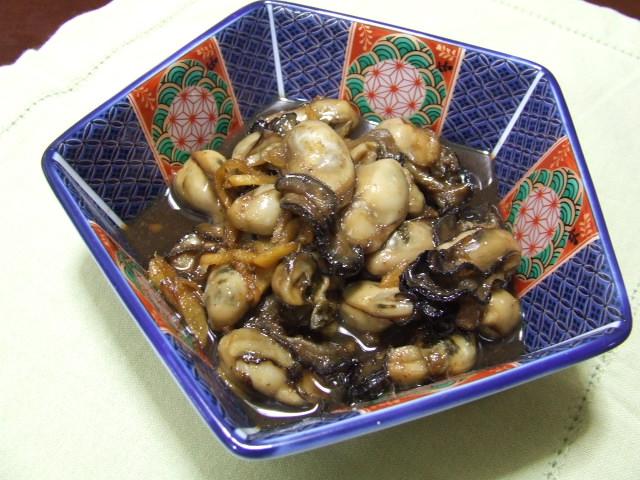 牡蠣のしぐれ煮_f0019498_163038100.jpg