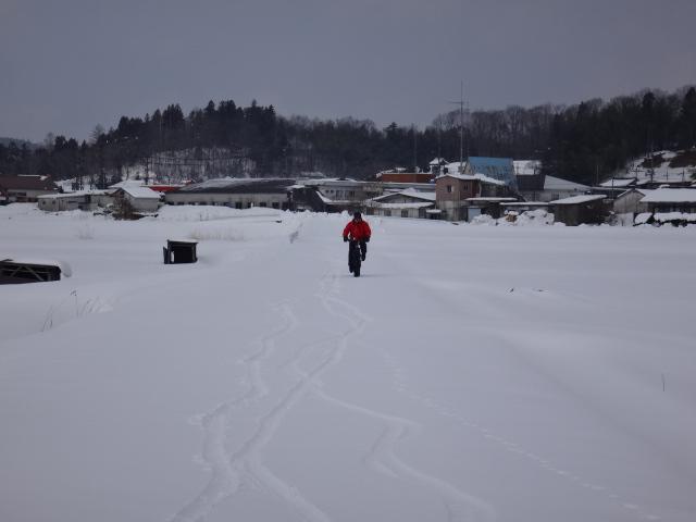 ファットバイクで雪遊び 2014年2月_c0132901_20511153.jpg