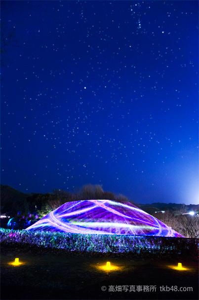 360°プロジェクションマッピングin高松塚古墳 Art Projector in TAKAMATSUZUKA Tumulus_e0245846_22344659.jpg