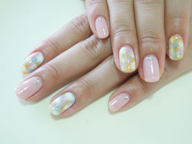Marble Nail_a0239065_1695472.jpg