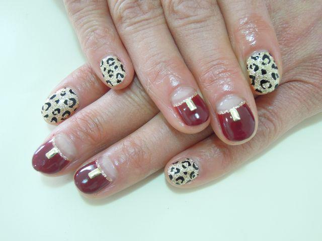Leopard Nail_a0239065_17104529.jpg