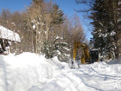 観測史上最高の積雪量となった雪の日 3日目_d0133485_15343432.jpg