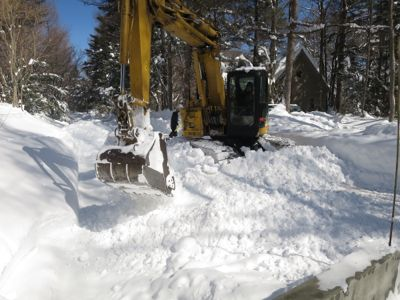 観測史上最高の積雪量となった雪の日 3日目_d0133485_15344941.jpg