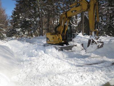 観測史上最高の積雪量となった雪の日 3日目_d0133485_1535304.jpg