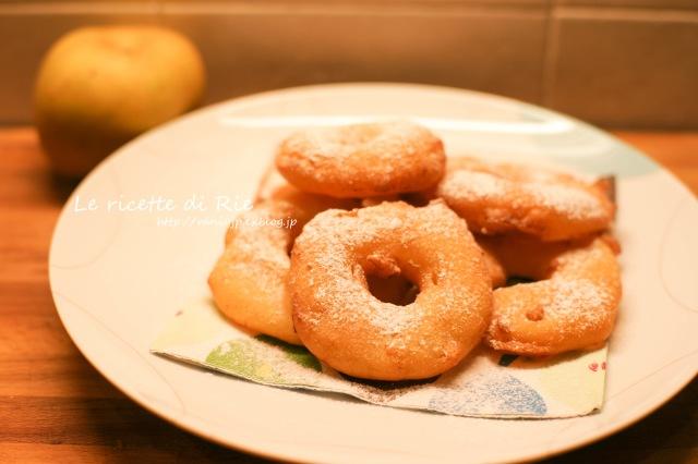 Mele fritte in pastella ♡北イタリアのとろける揚げリンゴ_b0246303_07135354.jpg