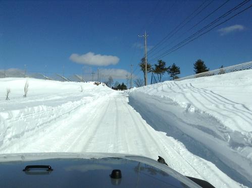 冬のイベント雪山へ_b0123820_211273.jpg