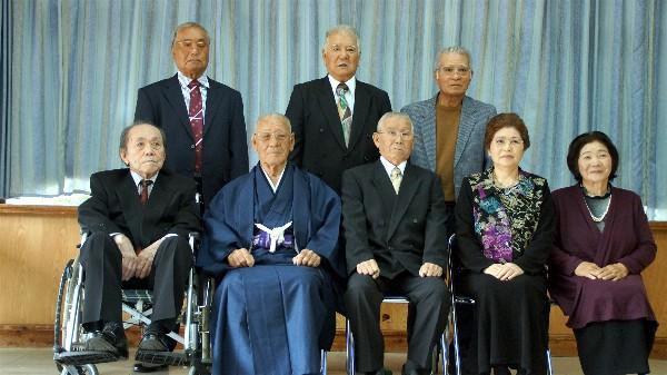 新里三郎 85歳 生年祝い_e0166355_01175527.jpg