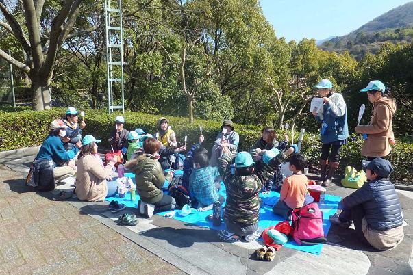 廃棄される竹を動物園へ・・・ _e0272869_22532886.jpg