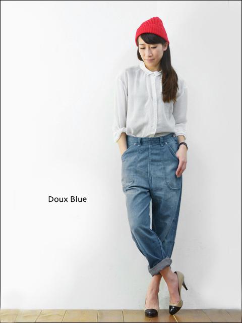doux bleu [ドゥーブルー] テンセルギャザーブラウス [DB-41-040] LADY\'S_f0051306_165225.jpg