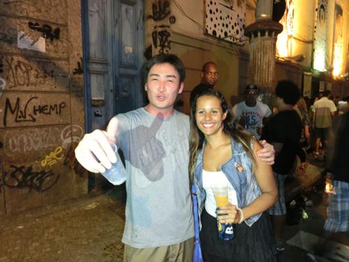 """from RIO<ケイタ☆ブラジルのポルトガル語講座 #12>""""Mas que calor !""""▶_b0032617_3264264.jpg"""