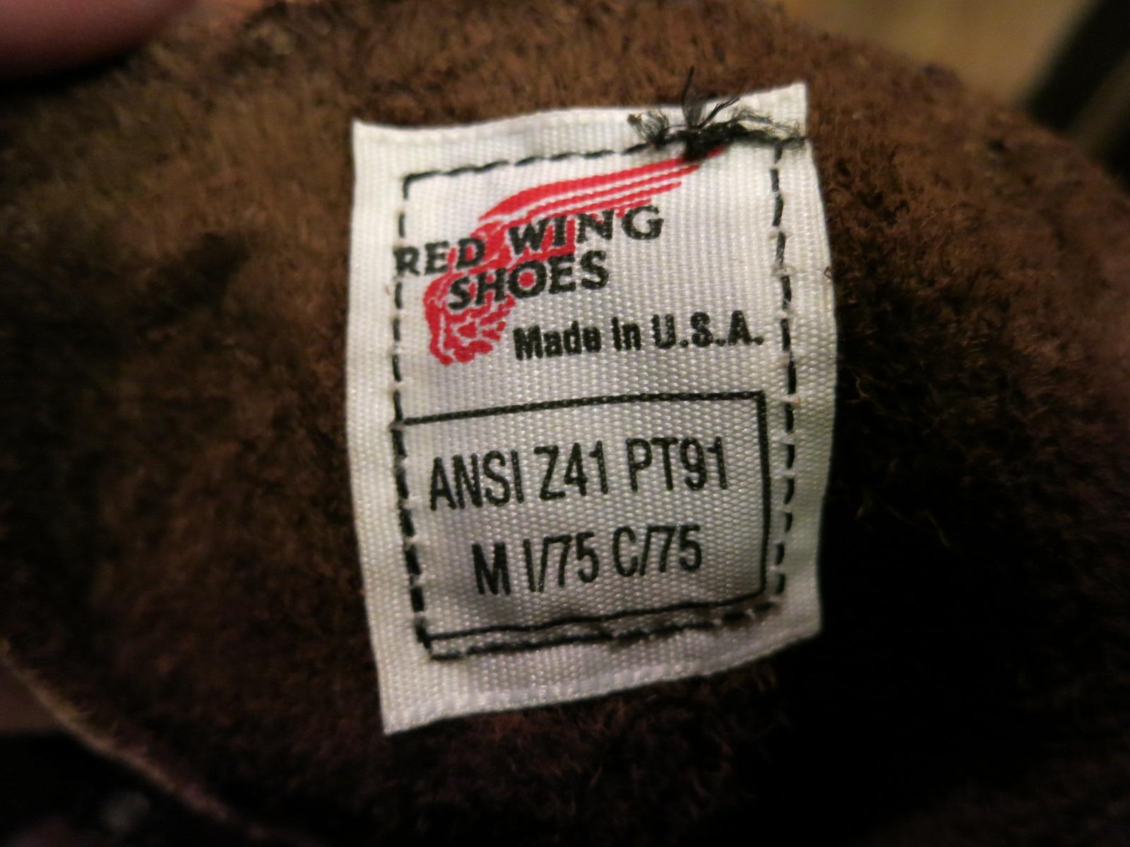 本日入荷!90年代 レッドウィング REDWING  BOOTS  2248 PT91 入荷!_c0144020_13545767.jpg