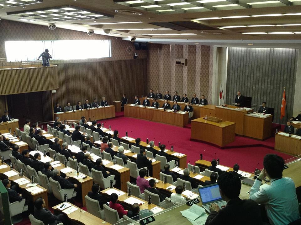 福島県議会 2月定例会 代表質問_f0259324_11511514.jpg
