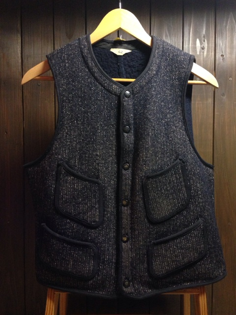 神戸店2/26(水)ChicagoVintage入荷!#2  50\'s  Brown\'s Beach Vest,30\'s Underwear!!!(T.W.)_c0078587_0415773.jpg