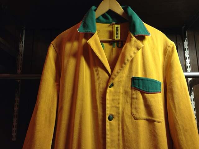 神戸店2/26(水)ChicagoVintage入荷!#3 1920\'s Shop Coat,1950\'s Janesvill Fireman Coat!!!(T.W.)_c0078587_13354164.jpg