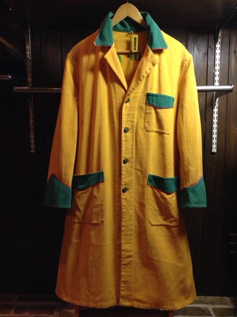 神戸店2/26(水)ChicagoVintage入荷!#3 1920\'s Shop Coat,1950\'s Janesvill Fireman Coat!!!(T.W.)_c0078587_13354725.jpg