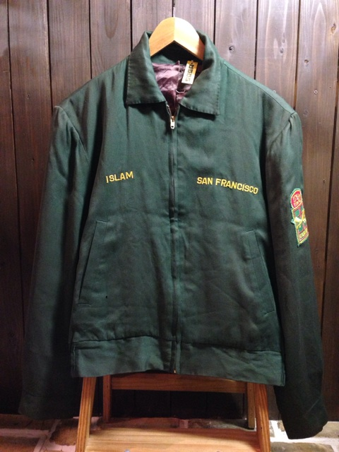 神戸店2/26(水)ChicagoVintage入荷!#3 1920\'s Shop Coat,1950\'s Janesvill Fireman Coat!!!(T.W.)_c0078587_13394746.jpg