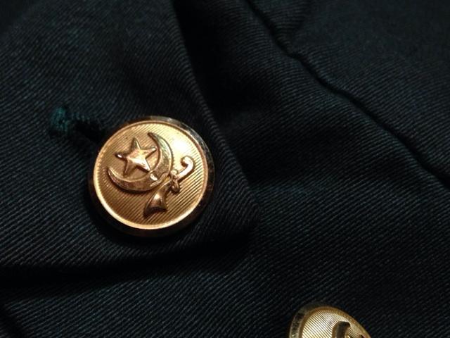 神戸店2/26(水)ChicagoVintage入荷!#3 1920\'s Shop Coat,1950\'s Janesvill Fireman Coat!!!(T.W.)_c0078587_13402955.jpg