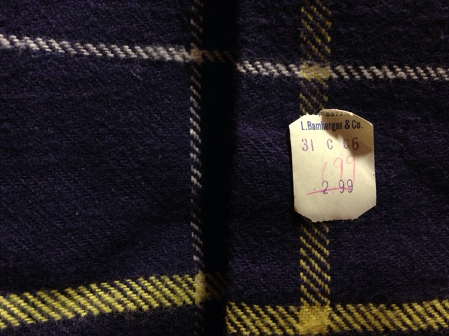 神戸店2/26(水)ChicagoVintage入荷!#3 1920\'s Shop Coat,1950\'s Janesvill Fireman Coat!!!(T.W.)_c0078587_14565977.jpg