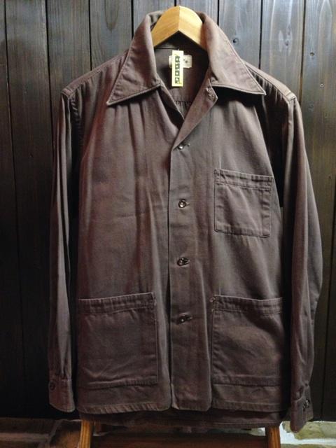 神戸店2/26(水)ChicagoVintage入荷!#3 1920\'s Shop Coat,1950\'s Janesvill Fireman Coat!!!(T.W.)_c0078587_14581165.jpg