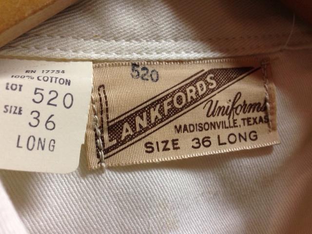 神戸店2/26(水)ChicagoVintage入荷!#3 1920\'s Shop Coat,1950\'s Janesvill Fireman Coat!!!(T.W.)_c0078587_163591.jpg