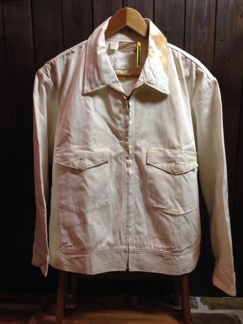 神戸店2/26(水)ChicagoVintage入荷!#3 1920\'s Shop Coat,1950\'s Janesvill Fireman Coat!!!(T.W.)_c0078587_1642438.jpg