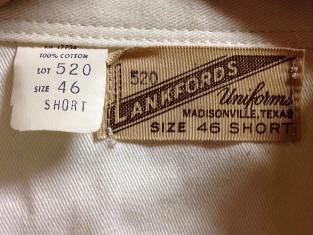 神戸店2/26(水)ChicagoVintage入荷!#3 1920\'s Shop Coat,1950\'s Janesvill Fireman Coat!!!(T.W.)_c0078587_1651528.jpg