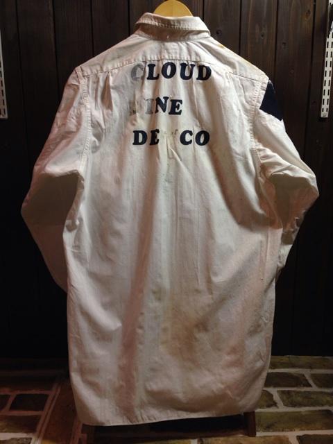 神戸店2/26(水)ChicagoVintage入荷!#3 1920\'s Shop Coat,1950\'s Janesvill Fireman Coat!!!(T.W.)_c0078587_1654513.jpg