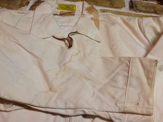 神戸店2/26(水)ChicagoVintage入荷!#3 1920\'s Shop Coat,1950\'s Janesvill Fireman Coat!!!(T.W.)_c0078587_165598.jpg