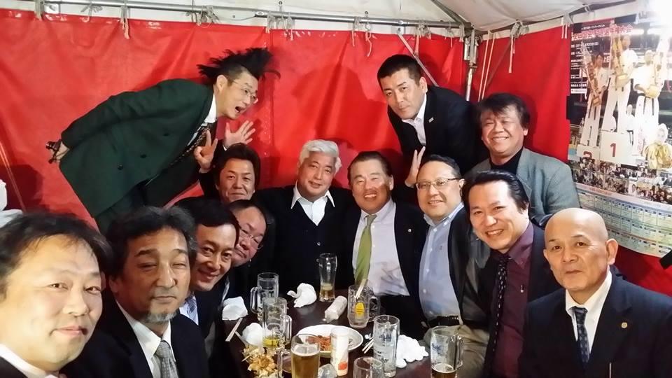 柳憲ちゃん主催の野茂英雄選手の歓迎会出席です!_c0186691_239875.jpg
