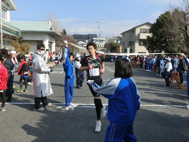 富士山の日に駆け抜けた「今泉駅伝」_f0141310_7123019.jpg