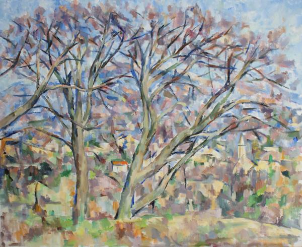 裸木とマザンの教会(第三段階)_c0236929_2204769.jpg