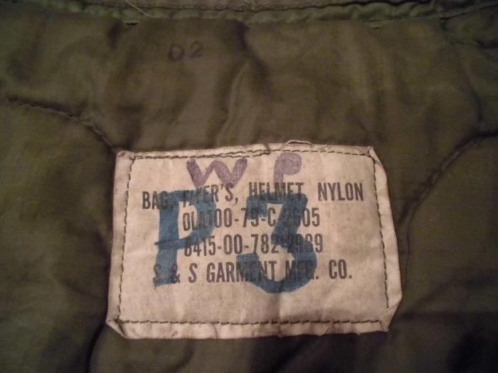Old Helmet Bag ② _e0187362_10584819.jpg
