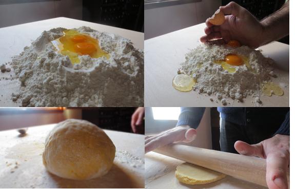 Pasta fatta in Casa---初めての手作りパスタ@山の家_c0179785_4551028.jpg