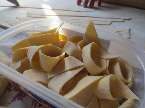 Pasta fatta in Casa---初めての手作りパスタ@山の家_c0179785_5101610.jpg