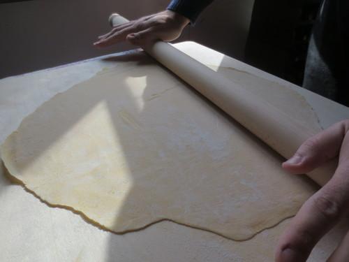 Pasta fatta in Casa---初めての手作りパスタ@山の家_c0179785_563876.jpg