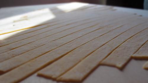 Pasta fatta in Casa---初めての手作りパスタ@山の家_c0179785_582464.jpg