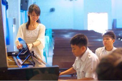 【UUUプロジェクト最終日】子供達への楽器ワークショップと最終コンサート_e0030586_1044498.jpg