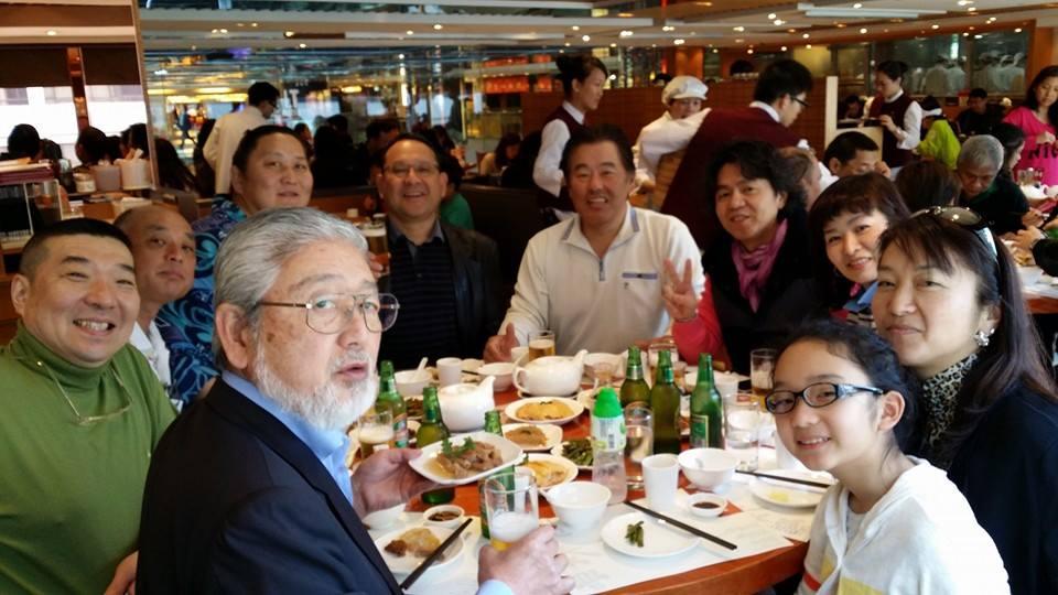 マカオでの試合観戦後、香港支部の仲間を激励する為食事会を開催!_c0186691_0404617.jpg