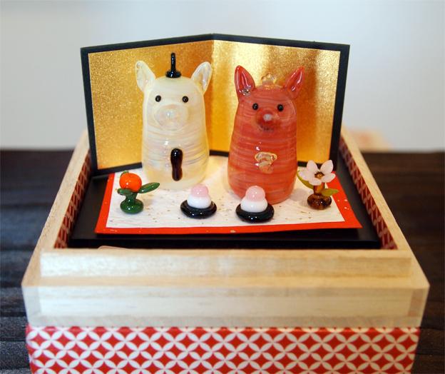 HINA IN BOX 箱入りお雛様2_f0143397_17435288.jpg