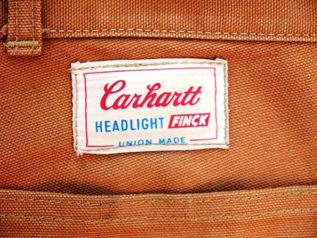 Carhartt ×Headlight×finck ダックペインター入荷!!_b0200198_21413099.jpg