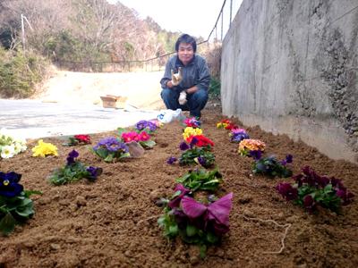 S.P.お花でいっぱいプロジェクト②_a0154110_131577.jpg