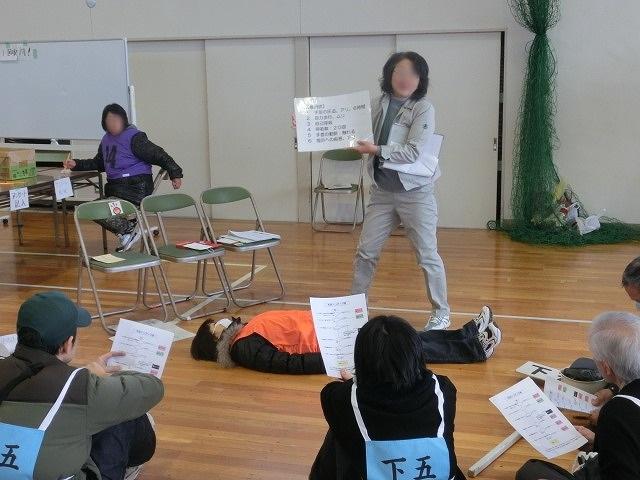 いろいろな考え方が参考になる 富士南地区避難所開設・運営訓練_f0141310_781963.jpg