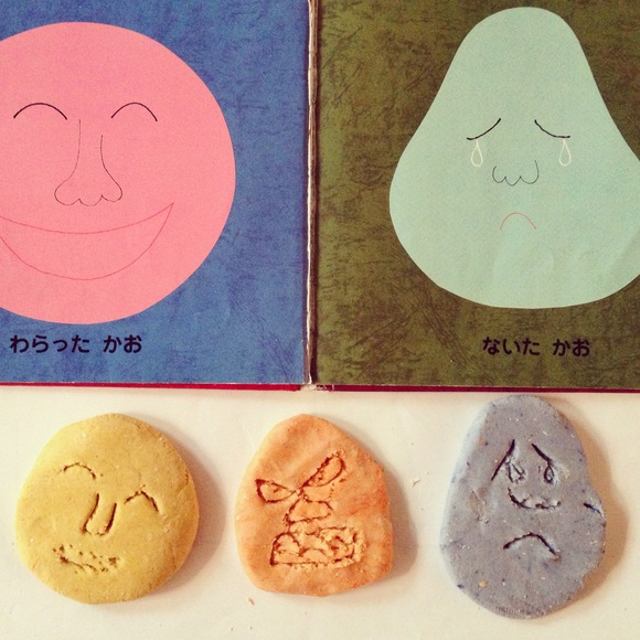 Salt Dough Clay + Natural pigmentで、かおかおかお_b0193324_17301570.jpg